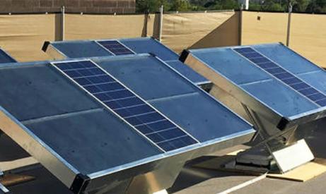 ce panneau solaire produit de l eau potable les smartgrids. Black Bedroom Furniture Sets. Home Design Ideas