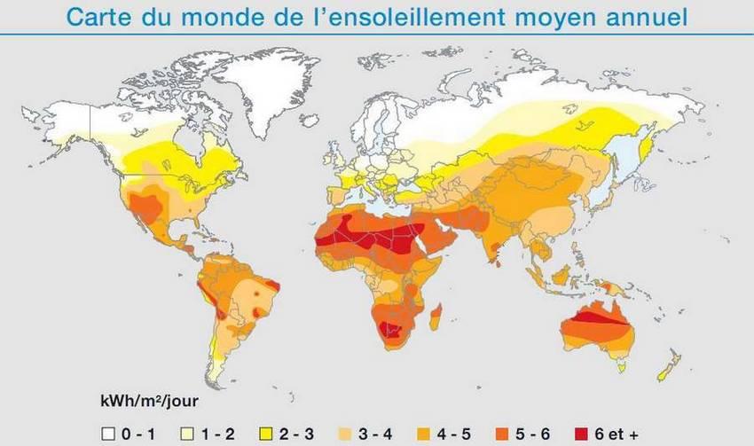 Connu Ensoleillement-carte-du-monde-ensoleillement-annuel-climats-dans  MZ64