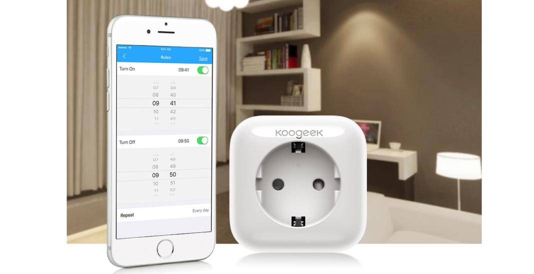 la prise lectrique connect e une bonne alternative une installation domotique. Black Bedroom Furniture Sets. Home Design Ideas