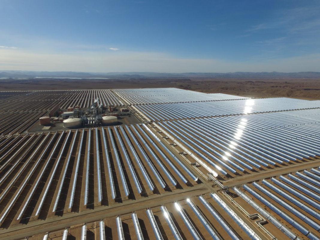 noor midelt maroc centrale solaire - Les Smart Grids